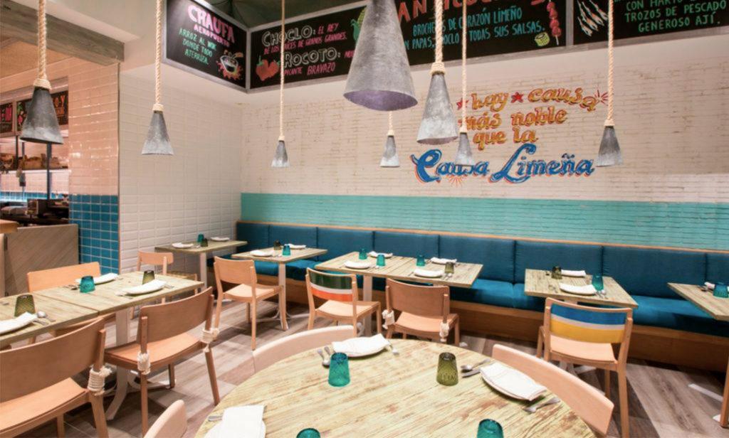 Yakumanka Barcelona Gastón Acurio Restaurante cebichería peruana